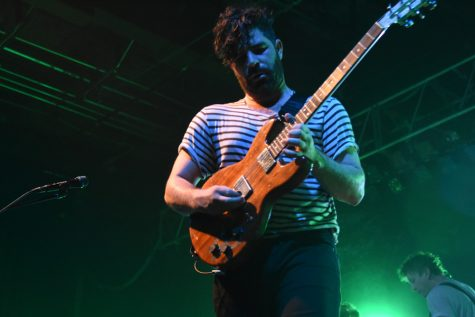 Foals delivers dancey indie rock to Myth