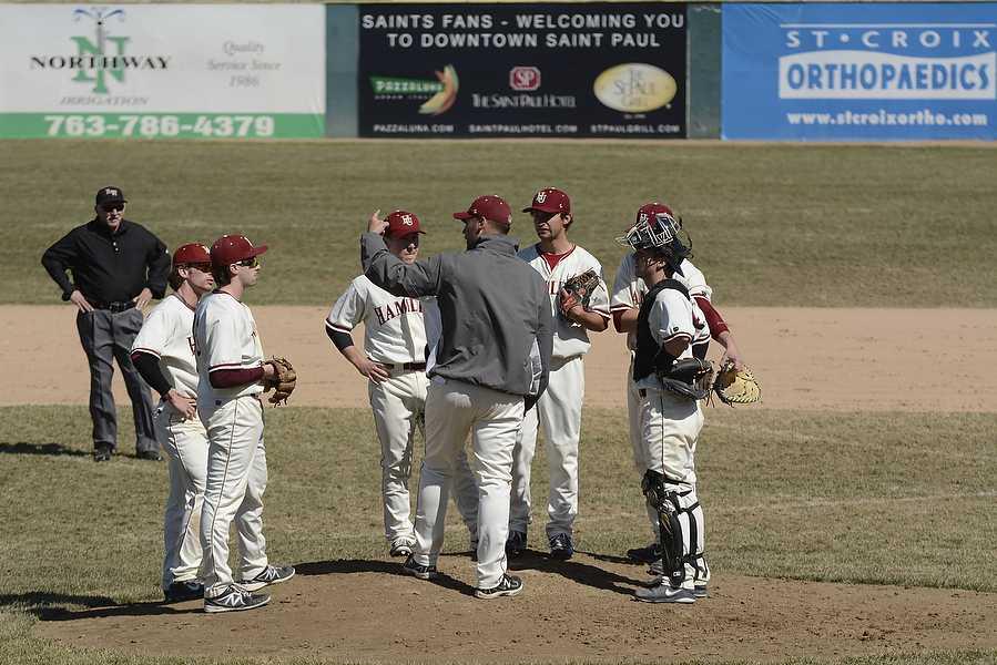Piper Baseball vs Auggies 4.09.14
