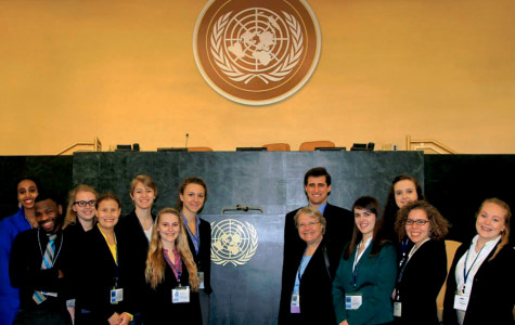 Hamline's Model United Nations team brought back team and individual awards from their annual competition in New York City.