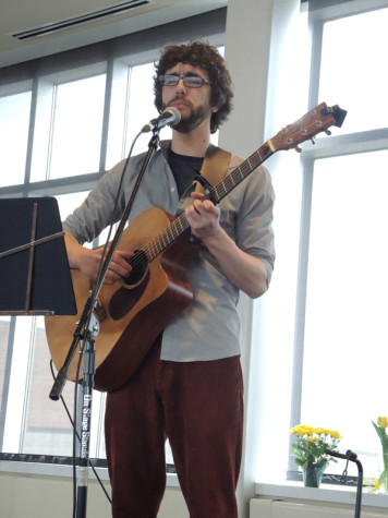 Ross Hackenmiller,  music director at the Hamline United Methodist Church and Hamline alum, performs Christian Taizé music.