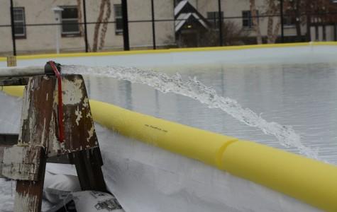 Hamline's very own ice rink