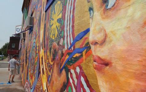 Murals illuminate Snelling