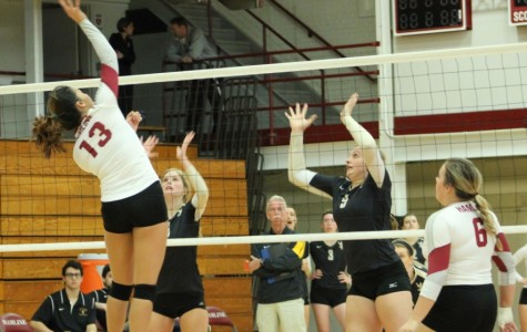 Volleyball excels on senior night