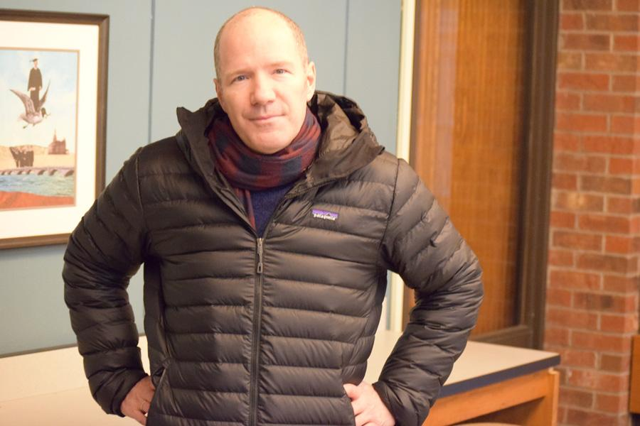 Rick Moody came to Hamline from Feb. 23 through Feb. 25 for a public reading and interview. He also worked with fiction writers in the Creative Writing Programs.