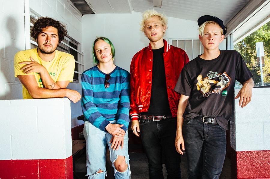 SWMRS take their punk rock tour to The Garage in Burnsville on Sunday, March 20. Other bands at the show will be The Frights, Unturned and The Everyday Characters. SWMRS was previously known as Emily's Army, but changed its name in 2015.
