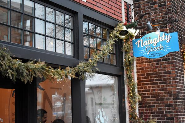 The Naughty Greek is located at 181 N Snelling Ave. They are open Tuesday through Sunday starting at 11 a.m. with closing varying based on the day.