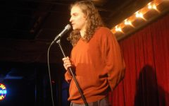 Hamline alumnus takes a stand-up