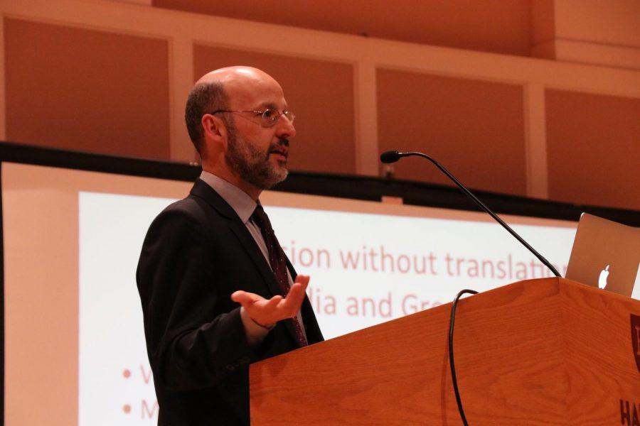 Professor Peter Adamson delivers the 2018 Hanna lecture.