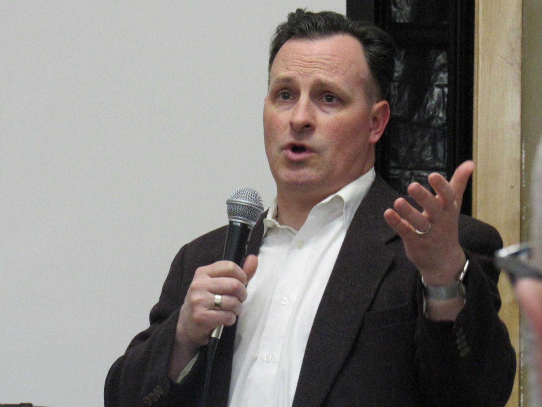 Minnesota State Representative John Lesch discusses gun control.