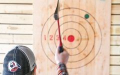 Throwing axes is a kick-axe experience