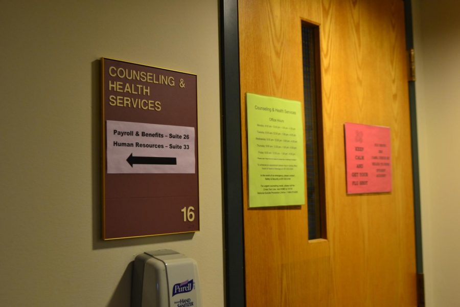 Hamline Counseling and Health Sevices resides in the basement of Manor Hall.