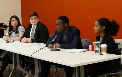 Candidates charge toward HUSC presidency