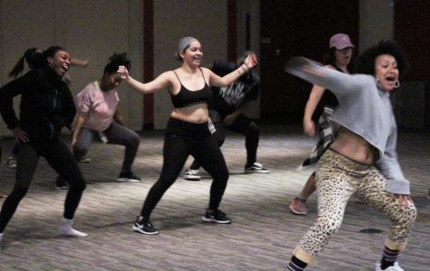 Hip-hop sizzles on a chilly night