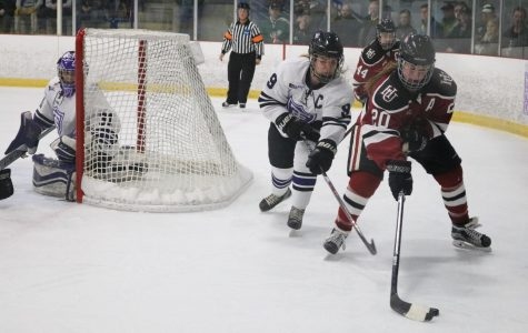 Senior Bre Simon received the prestigious Laura Hurd award from the American Hockey College Assocation. She is the first Hamline athlete to win the award, which is presented to the best player in the NCAA Women's D-III level.
