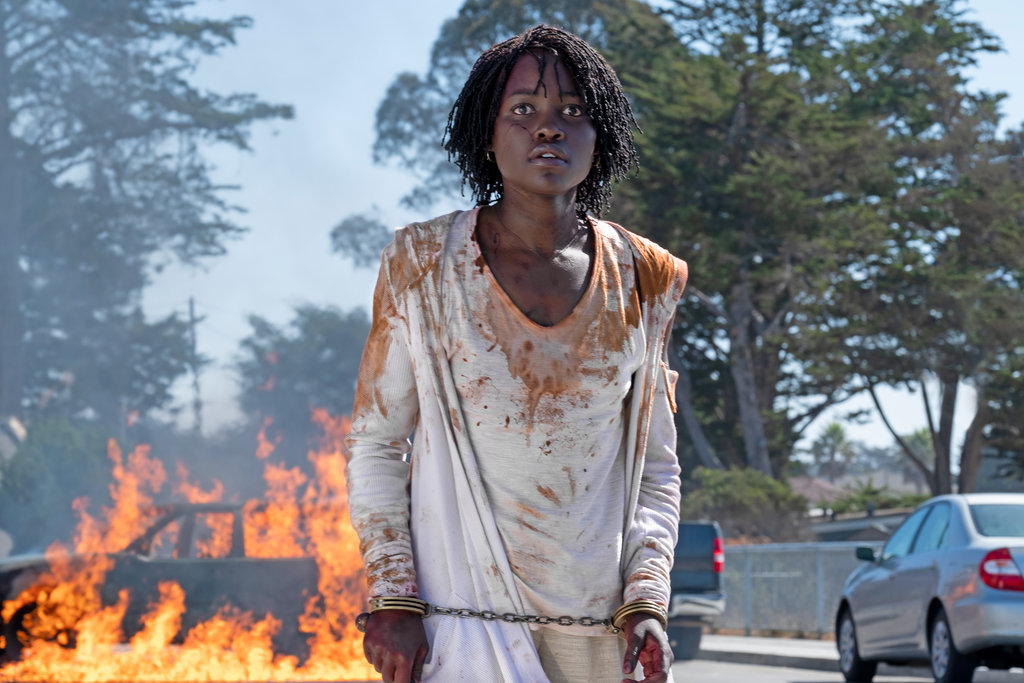 Lupita Nyong'o plays Adelaide Wilson and her doppelgänger in Jordan Peele's