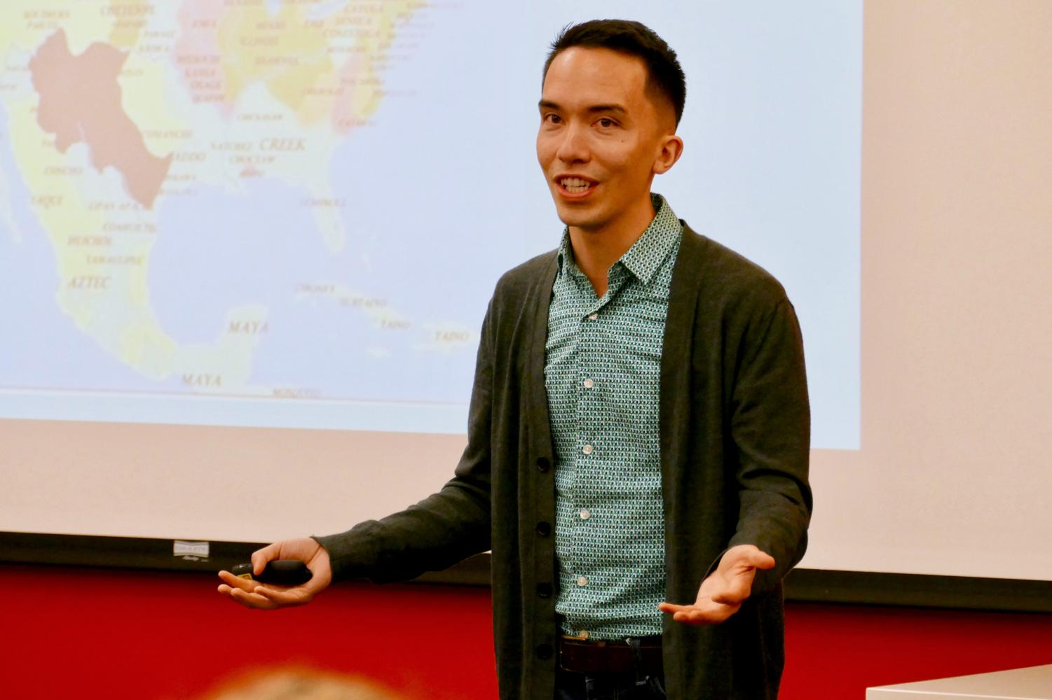 Rev. Tyler Sit is a United Methodist church planter and preaches at the LGBTQ+ friendly New City Church in Minneapolis. He was the keynote speaker for Hamline's Coming Out Week.
