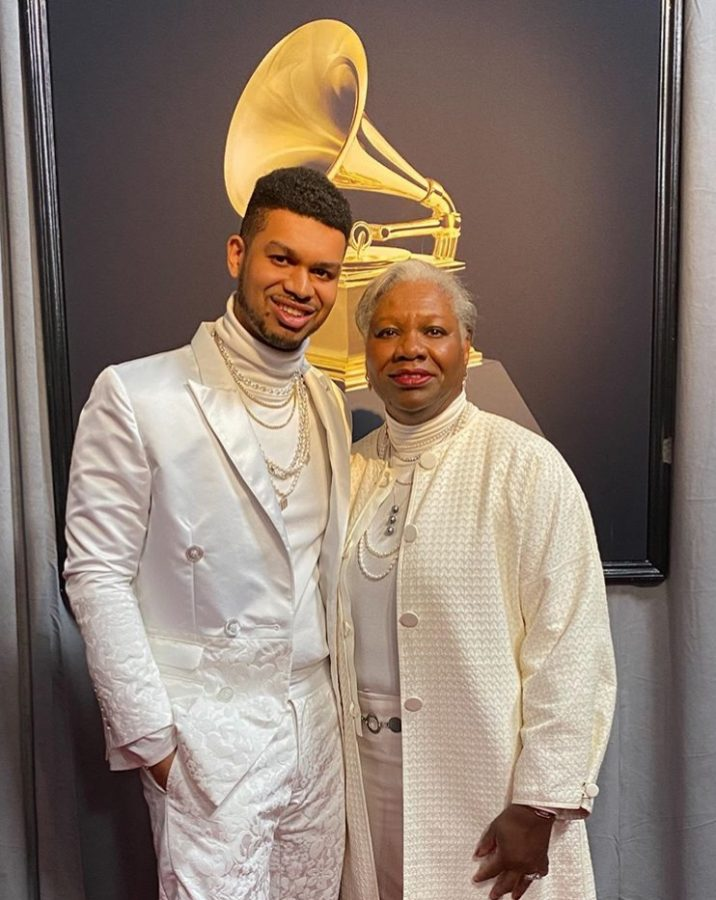 President+Fayneese+Miller+attended+the+2020+Grammy+Awards+as+her+son+David+Biral%27s+plus-one.+Biral%2C+who+has+been+involved+with+music+from+a+young+age%2C+was+nominated+for+producing+Lil+Nas+X%27s+song+%22Panini.%22