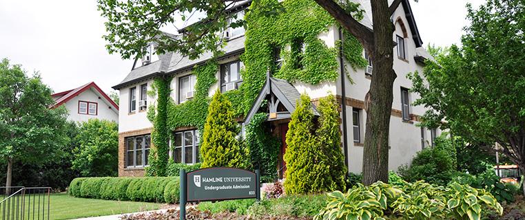Hamline+University%27s+admissions+house