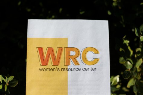 A phamplet from the Women's Resource Center