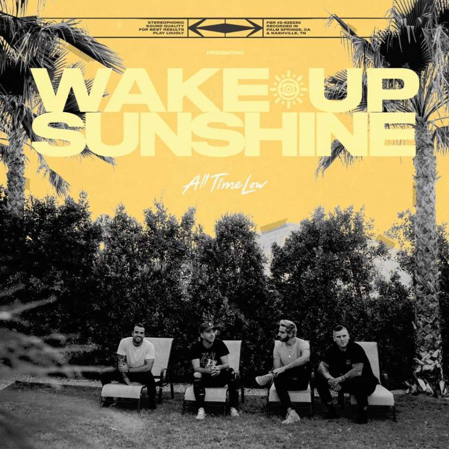 "The album cover of All Time Low's new album ""Wake Up Sunshine"" was taken by photographer Ashley Osborn."