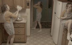 """Aidan Stromdahl Junior Taylor Krassas performs in """"Sonder"""", a company-created digital video that explores the multifaceted dynamics of human isolation during a global pandemic. Krassas roams through her home in isolation, looking for anything to occupy her time."""