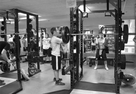 Courtesy of Hamline Athletics When the weight room was open to the public it was a gathering place for those who wanted to get in shape. Now it is only accessible to athletes who need to train for their sport.