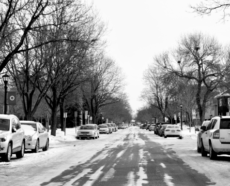Cait QuinnEnglewood Avenue is a street that is located on the south side of Hamline University's campus. It has a convenient location that is close to the main buildings and resources at Hamline and attracts a lot of visitors and their vehicles.