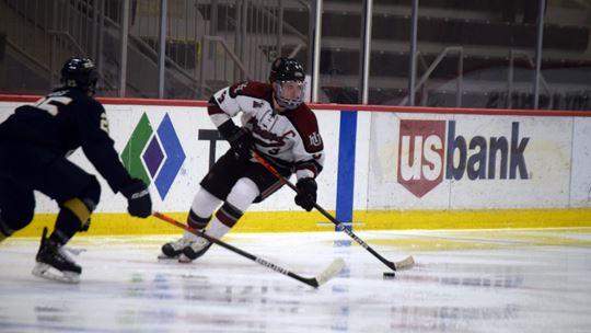 Courtesy of Hamline AthleticsTRIA Rink has been the hockey teams' home rink since 2018.