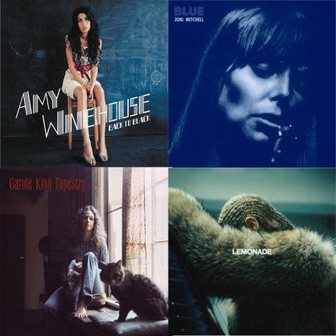 Landmark albums by women