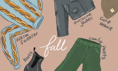 Changing fall colors in style