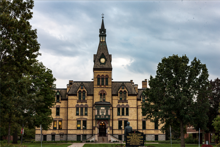 Nathan Steeves Hamline University's Old Main, an iconic aspect of Hamline's history now housing administrative offices and staff.